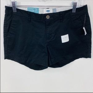 NEW Old Navy Black Shorts 3.5 Inseam Size 4
